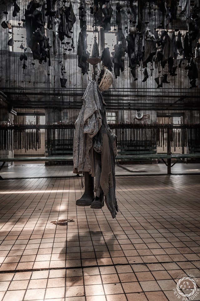 Petr Pazdírek | Duch důlní šatny