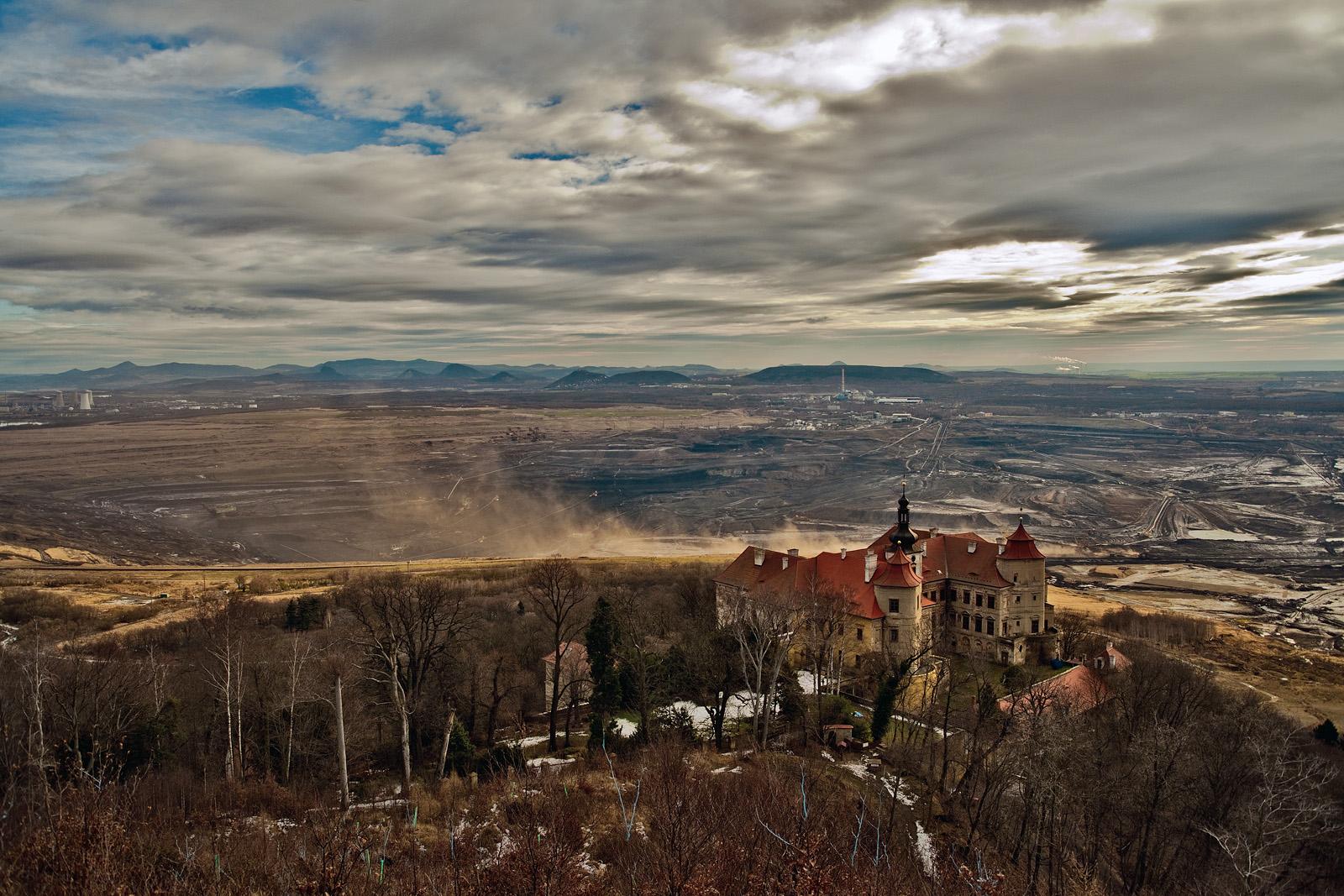 Zámek Jezeří   Foto Ibra Ibrahimovič