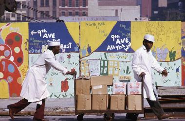 Foto Jan Lukas – 9. Avenue, Manhattan, 70. léta