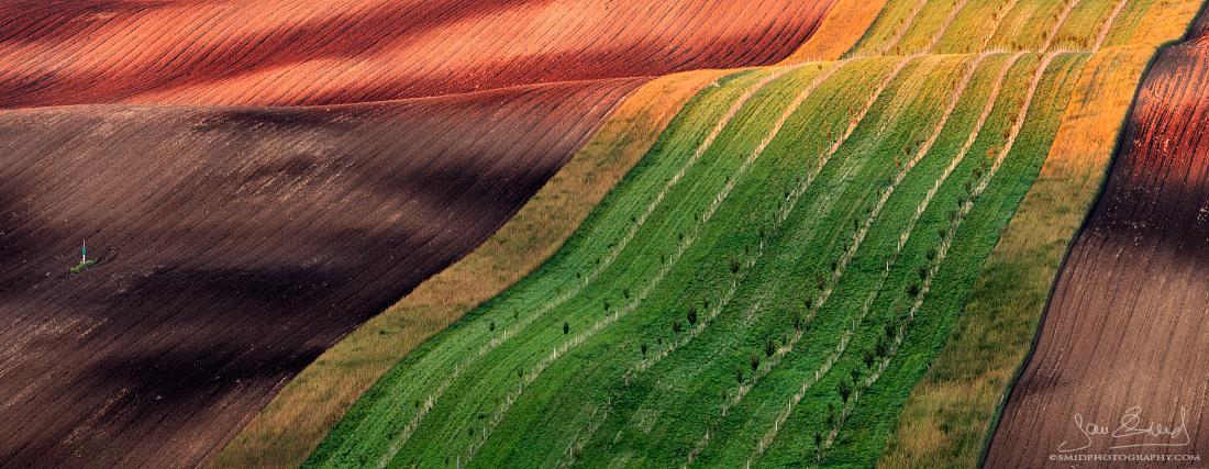 Diagonály | Panorama složené ze 3 fotografií (3 fotografie plošně v jedné řadě) | Nikon D750 | Foto Jan Šmíd