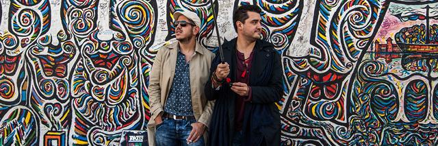 JSEM | Fotka měsíce Nikonblogu – srpen u berlínské zdi