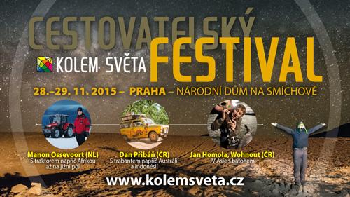 Cestovatelský festival Kolem světa