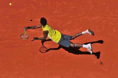 Levitace, Roland Garros, Paříž 2008 | Foto Martin Sidorják