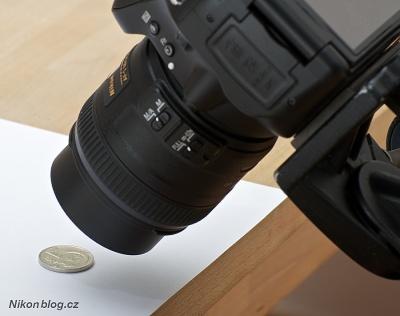 AF-S DX Micro Nikkor 40 mm F2,8G na těle Nikon D5100