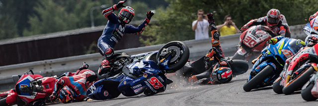 MotoGP na Masyrykově okruhu v Brně Nikony Václava Dušky Jr. A NPS k tomu…