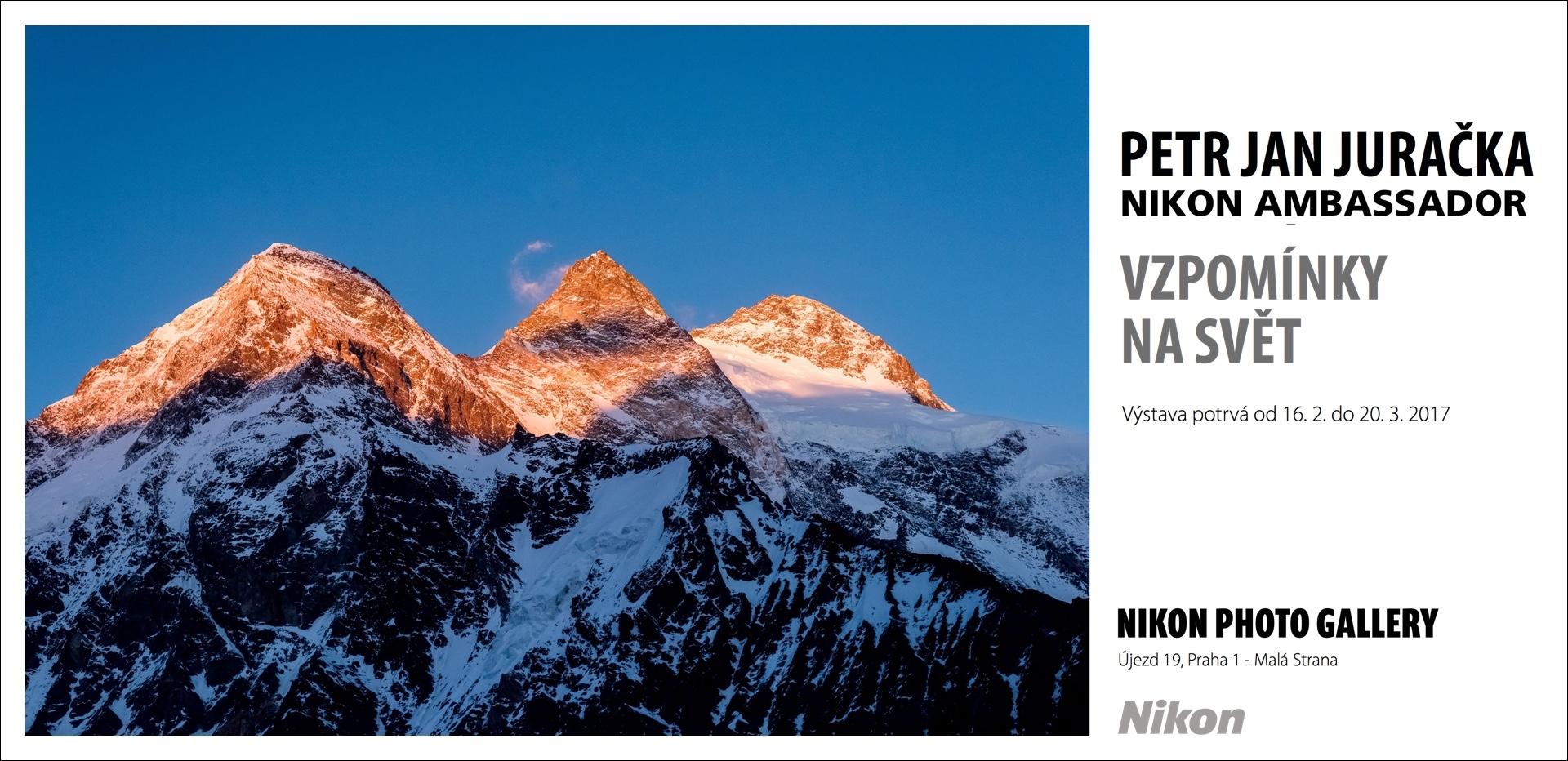 Vzpomínky na svět Petra Jana Juračky v Nikon Photo Gallery již od čtvrtka