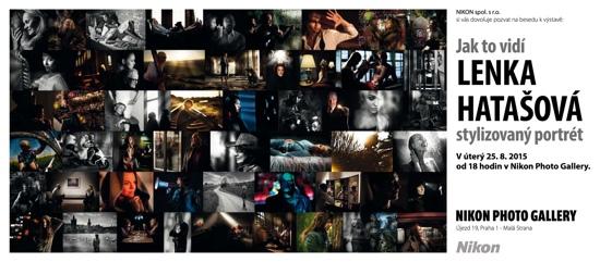 Beseda s Lenkou Hatašovou v Nikon Photo Gallery
