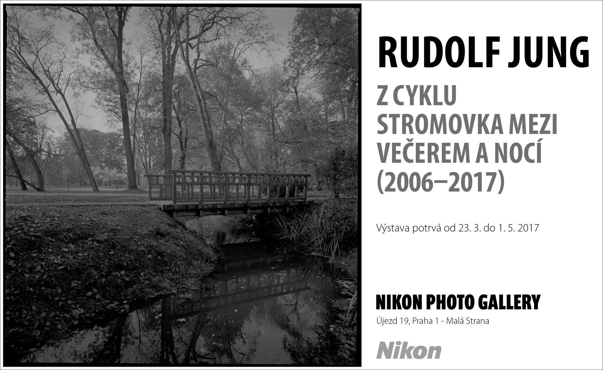 """""""Když chci něco říct, řeknu to takhle."""" Výstava fotografií Rudolfa Junga v Nikon Photo Gallery"""