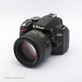 AF-S Nikkor 85 mm F1,8G  na Nikonu D3200