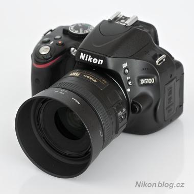 AF-S Nikkor DX 35 mm F1,8G na těle D5100