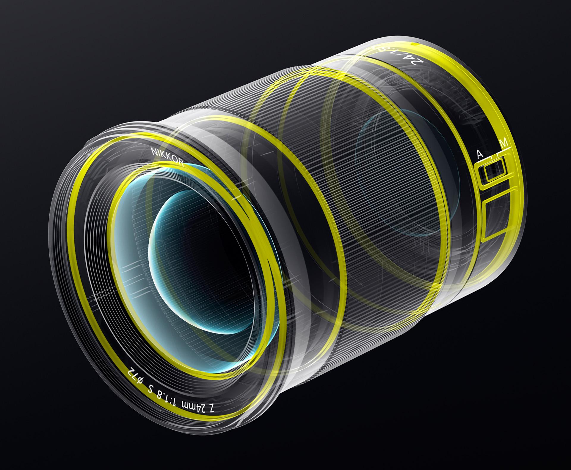 Nikkor Z 24 mm f/1,8 S – utěsnění proti stékající vodě a prachu
