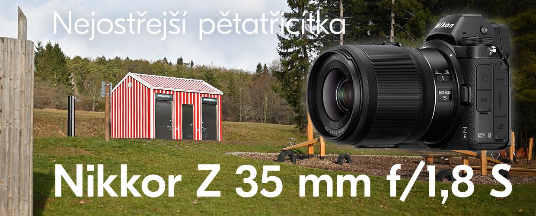 Nikkor Z 35 mm f/1,8 S