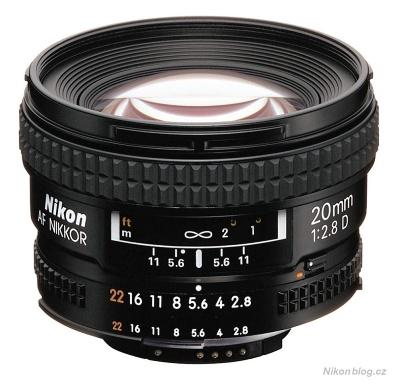 AF Nikkor 20 mm F2,8D