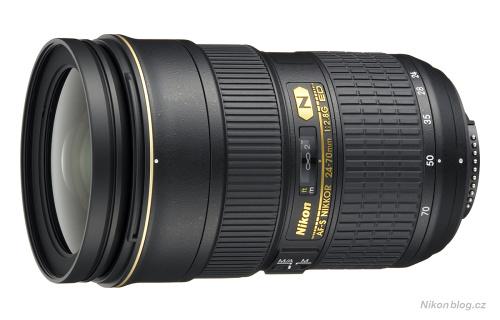 Nejlepší objektivy pro Nikon D600 – AF-S Nikkor 24–70 mm F2,8G