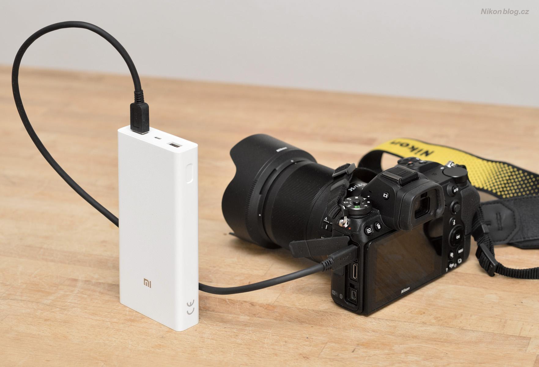 Nabíjení Nikonu Z pomocí powerbanky? No problem