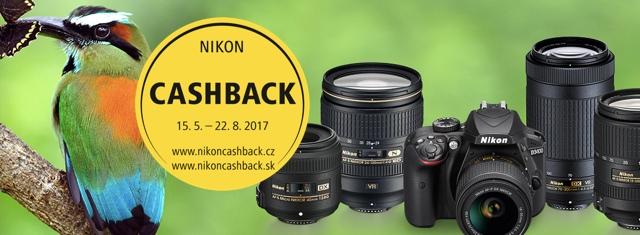 Narozeninový cashback Nikonu