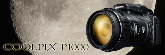 První letní novinka! Megazoom Nikon Coolpix P1000