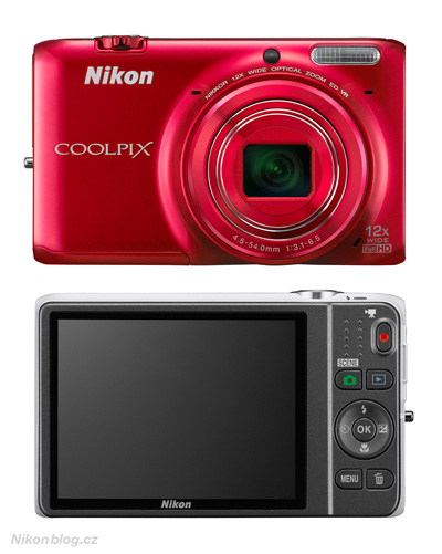 Novinky Nikonu v lednu 2013 – Nikon Coolpix S6500