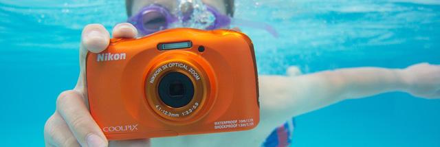Vodotěsný a hravý: nový Nikon Coolpix W150