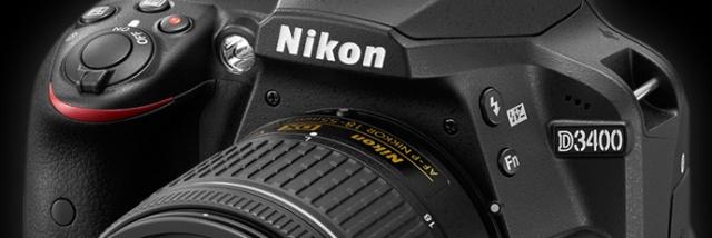 Nikon D3400 –mrňous s duší dravce