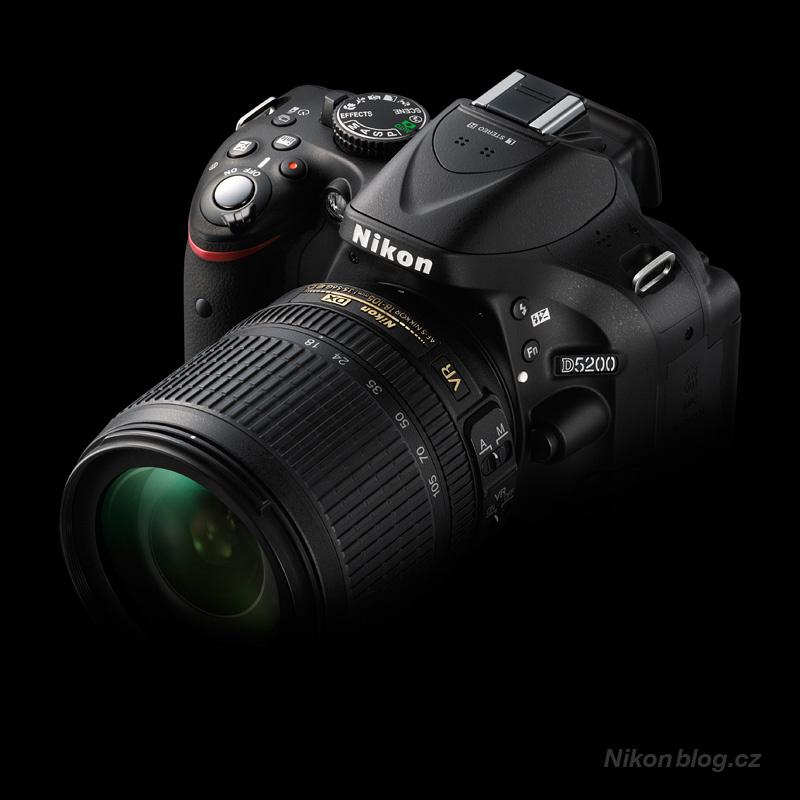 Klíčové vlastnosti Nikonu D5200