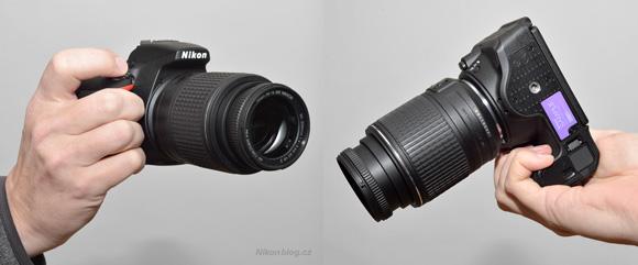 Nikon D5500 v ruce