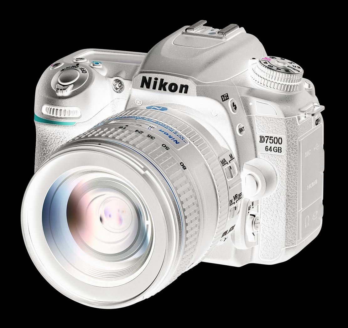 Líbil by se vám například Nikon D7500 s pevnou 64GB pamětí?