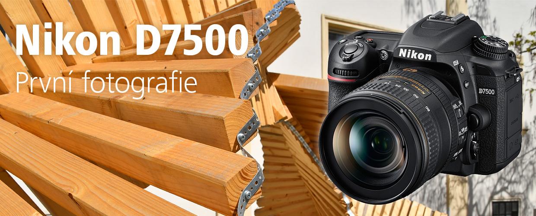 Nikon D7500 –první fotky