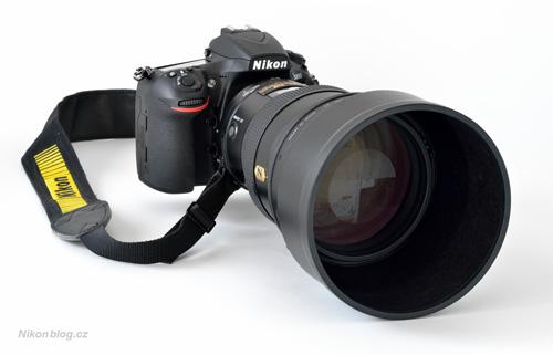 Nikon D810 a AF-S Nikkor 200 mm F2G ED VR II
