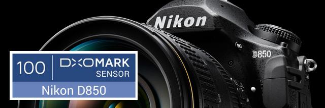 100 let Nikonu a 100 bodů pro Nikon D850 od DxOMark!