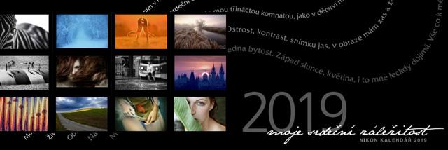 Nikon kalendář 2019 k semifinálové fotografii zdarma