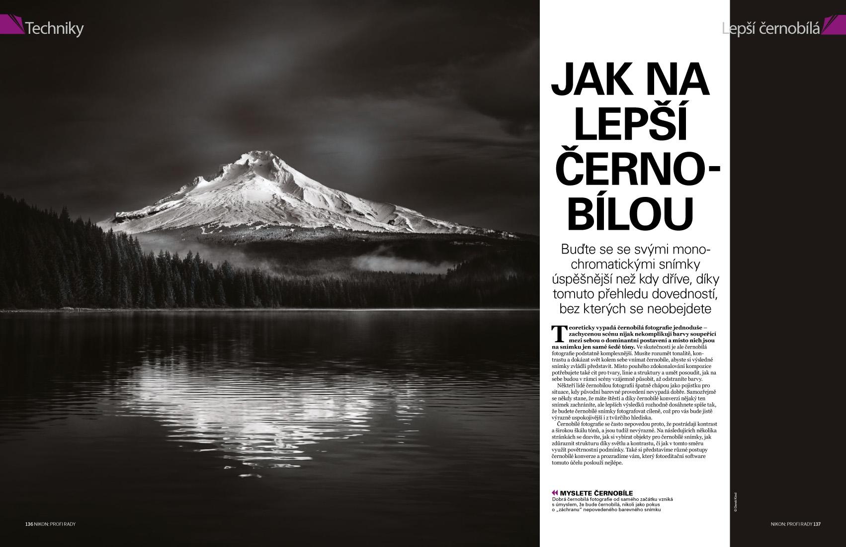 časopis Nikon Profi rady