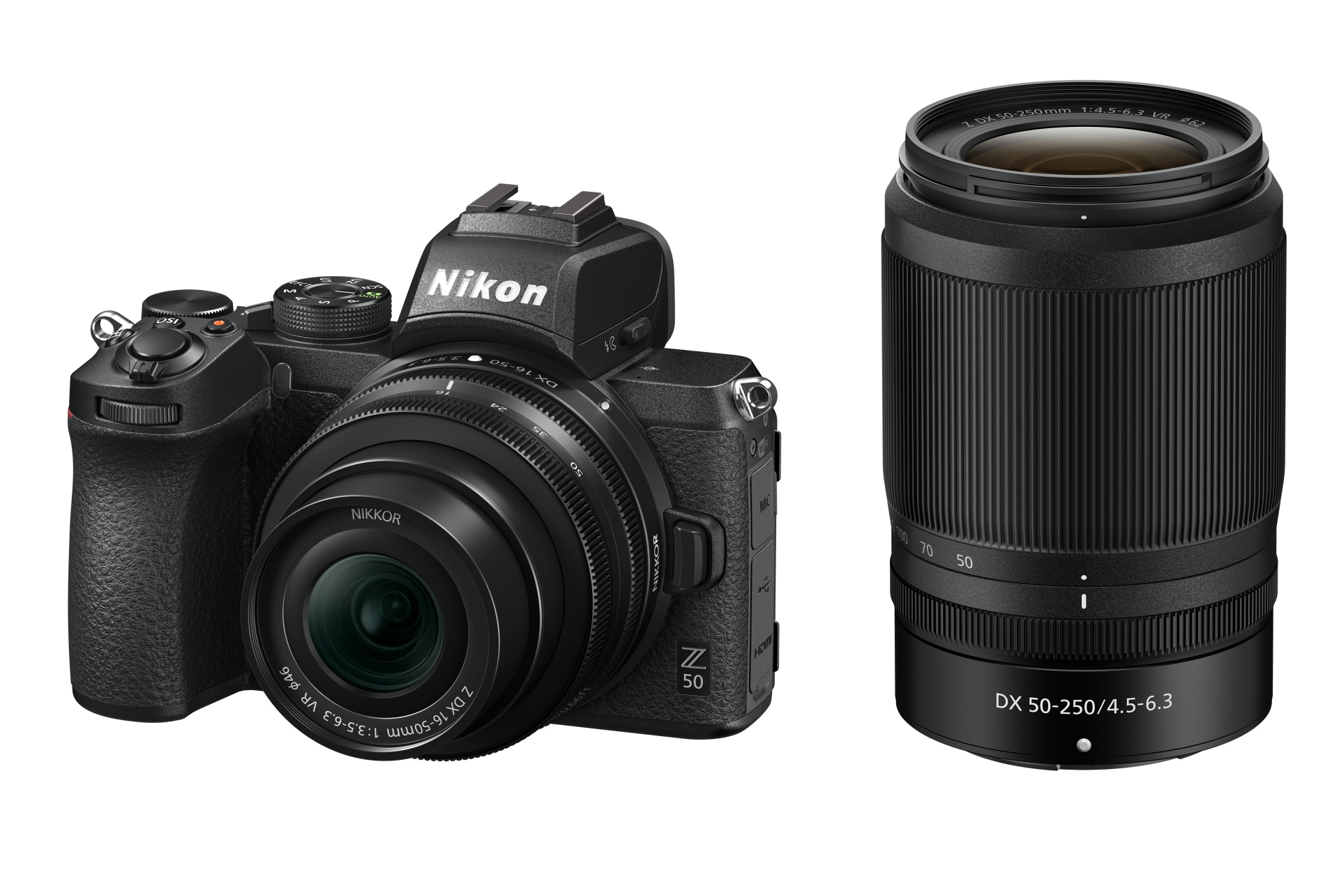 Nikon Z 50 se setovými zoomy
