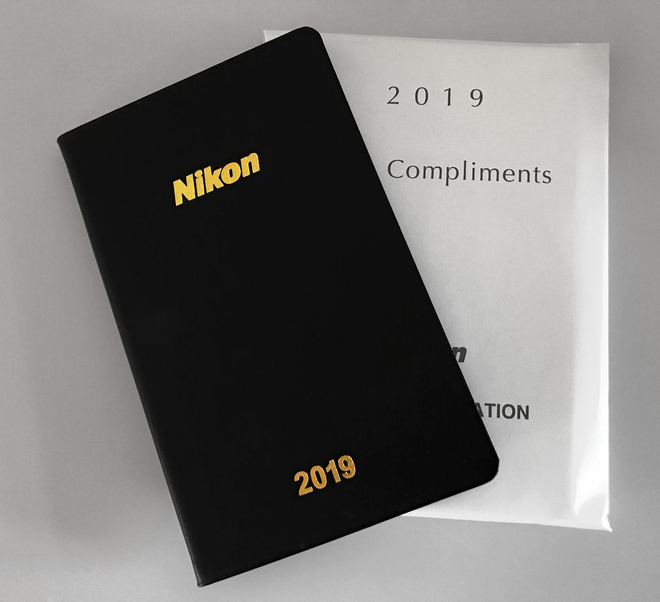 Nikon diář 2019