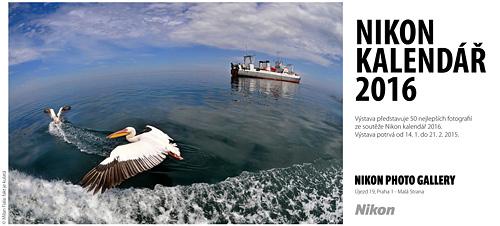 """Nikon kalendář 2016 """"naživo"""" v Nikon Photo Gallery"""