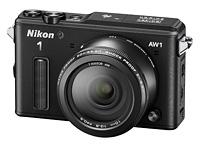 Nikon 1 AW1 s objektivem 1 Nikkor AW 10 mm F2,8