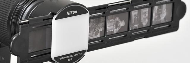 Jak vyfotit kinofilm – adaptér pro digitalizaci filmů Nikon ES-2