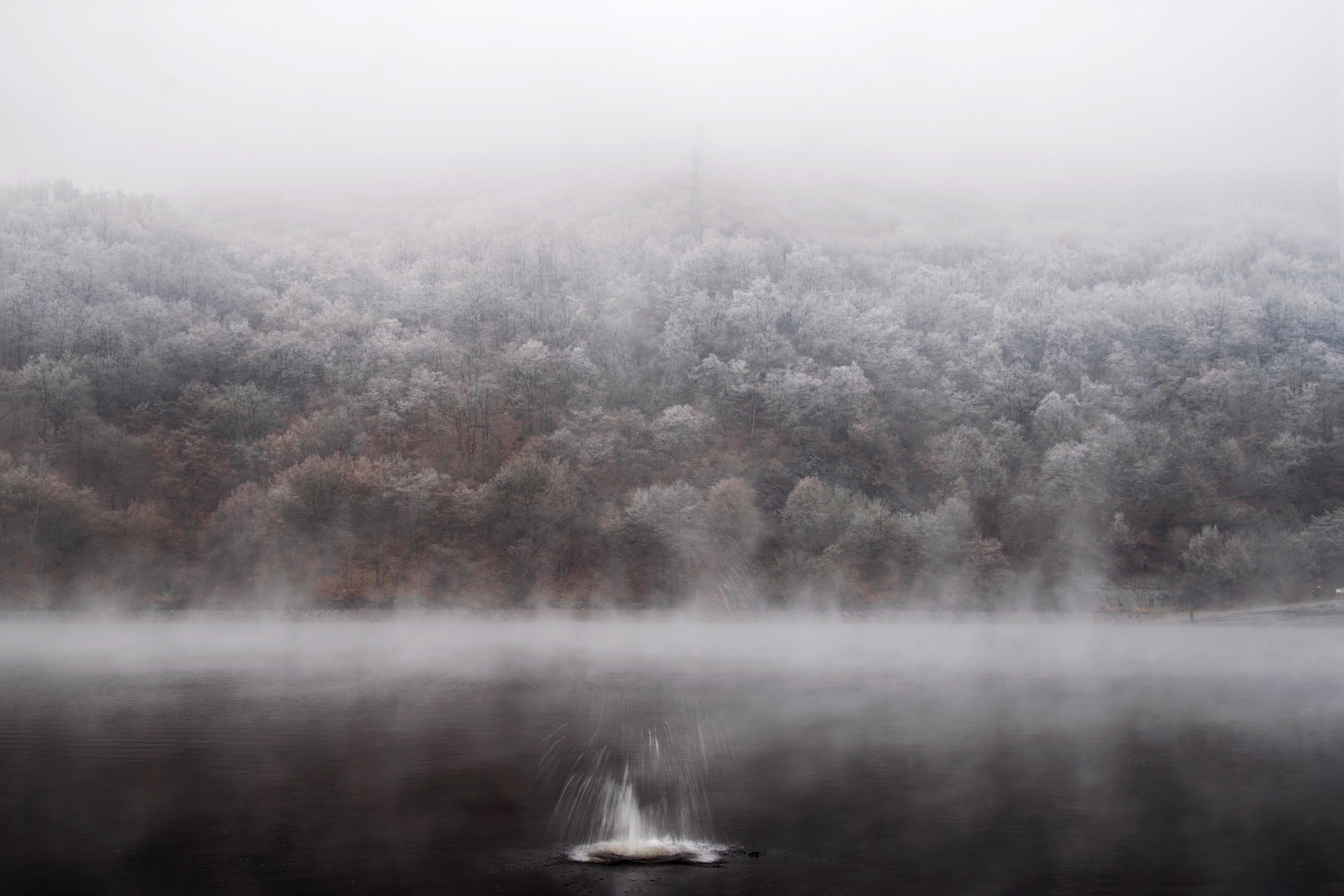 JSEM | Fotka měsíce Nikonblogu –prosinec 2016 | Oliver Beneš / Misty morning over Vltava river