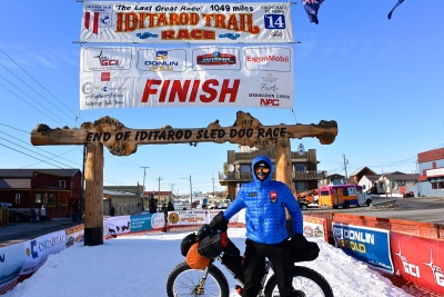 Pavel Richtr na Iditarod Trail Invitational 2014