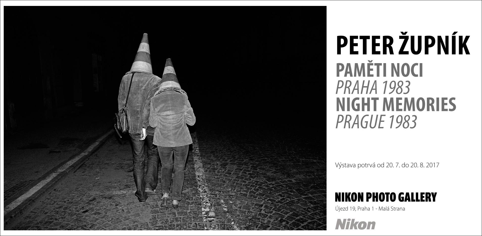 Paměti noci Petera Župníka v Nikon Photo Gallery