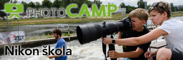Co se o prázdninách naučíš… aneb jaký byl první PhotoCamp Nikon školy?