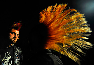 Z cyklu Punk | Foto Roman Vondrouš