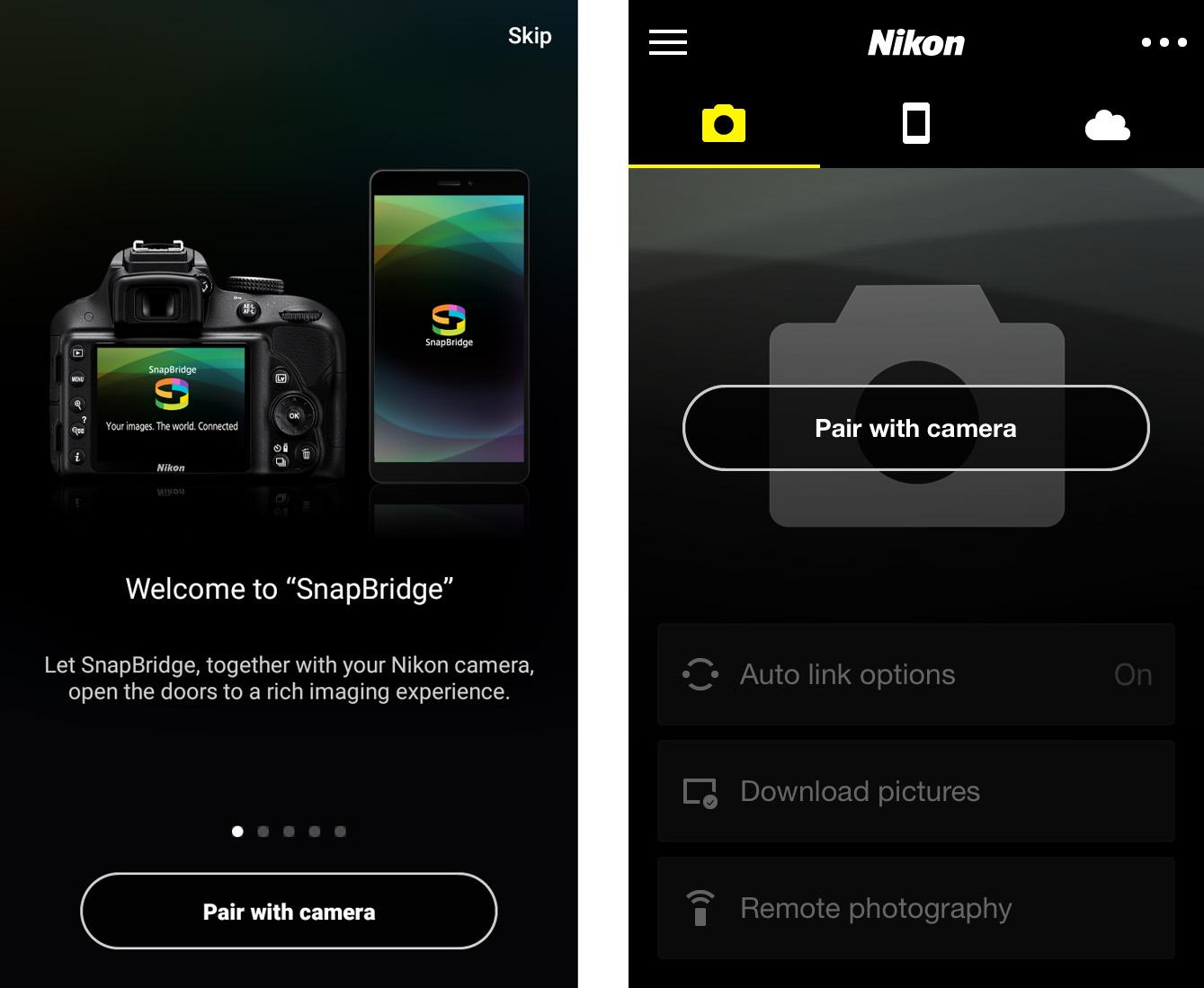 SnapBridge bez problémů: Jak spárovat fotoaparát s chytrým zařízením