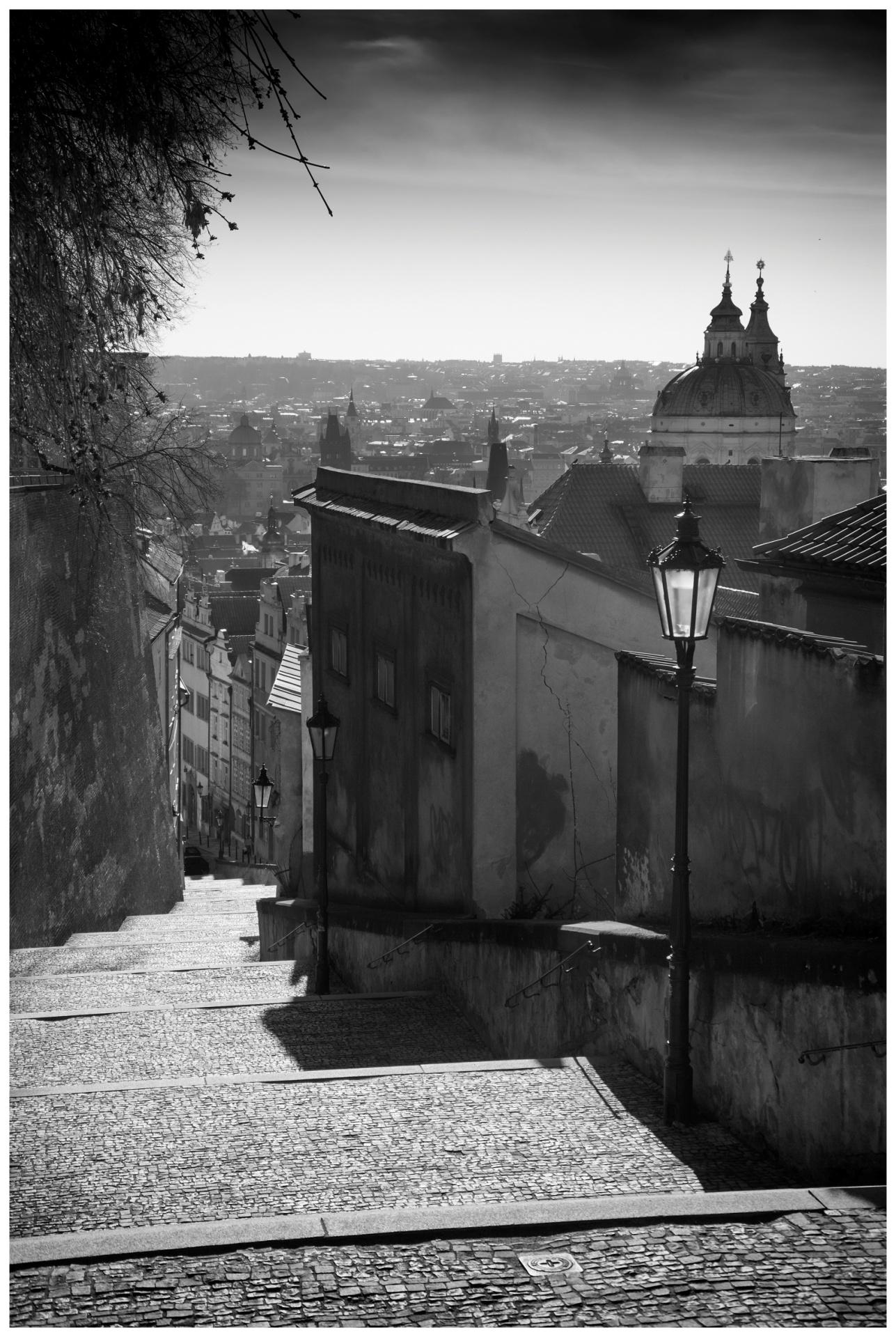 Pražské fragmenty/Prague Fragments © Stanislav Pokorný: Nové zámecké schody/New Castle Stairs