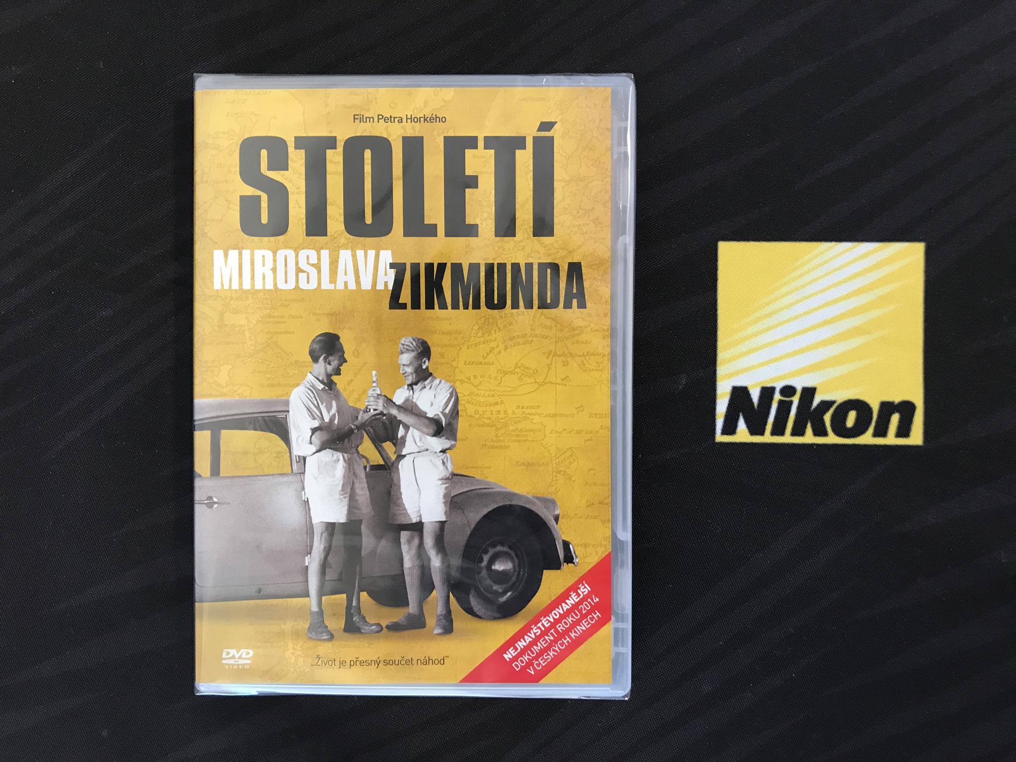 DVD Století Miroslava Zikmunda