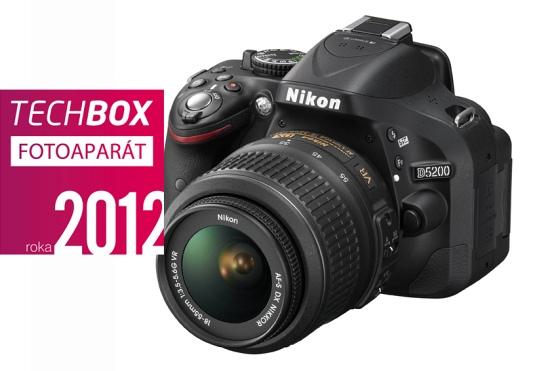Nikon D5200 – TECHBOX fotoaparát 2012