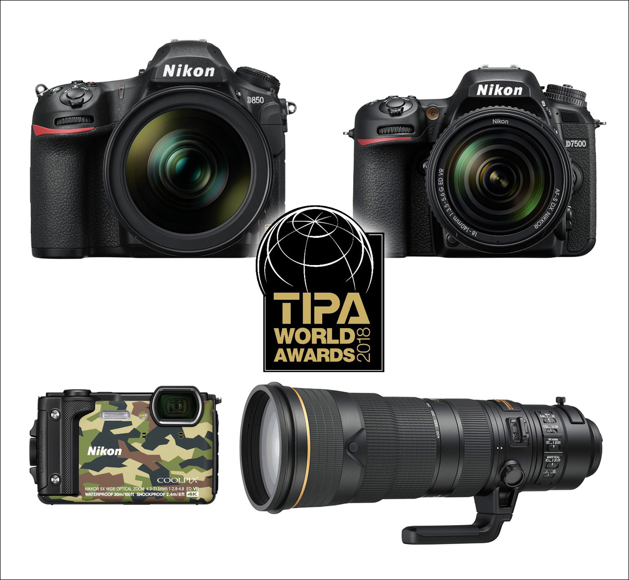 TIPA 2018 –Nikon