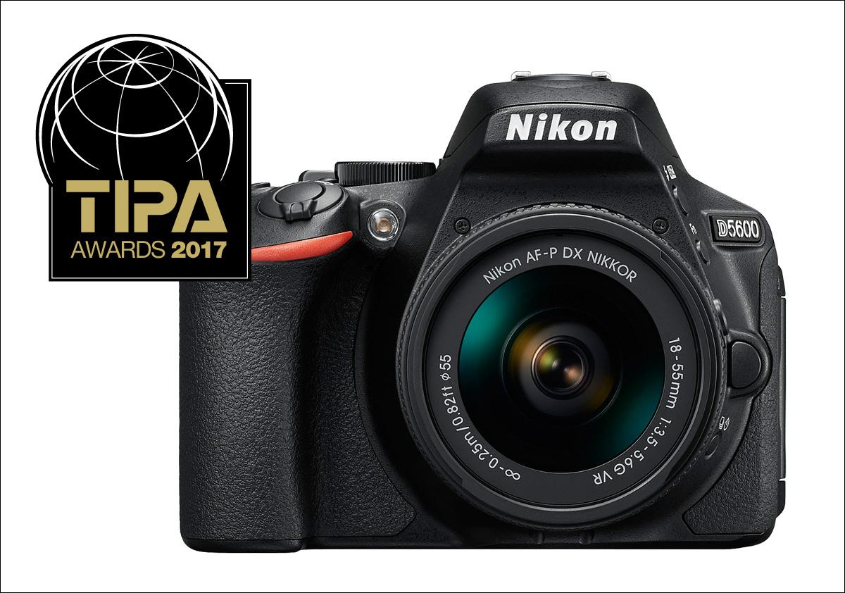 TIPA Awards 2017 pro Nikon