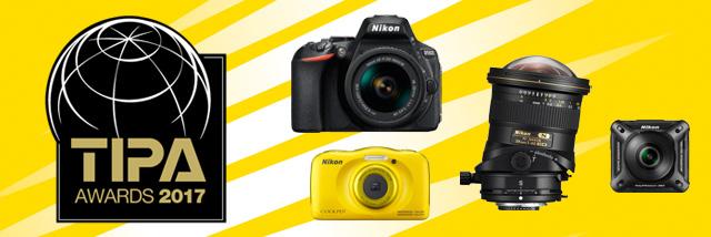 4× cena TIPA Awards 2017 pro Nikon!