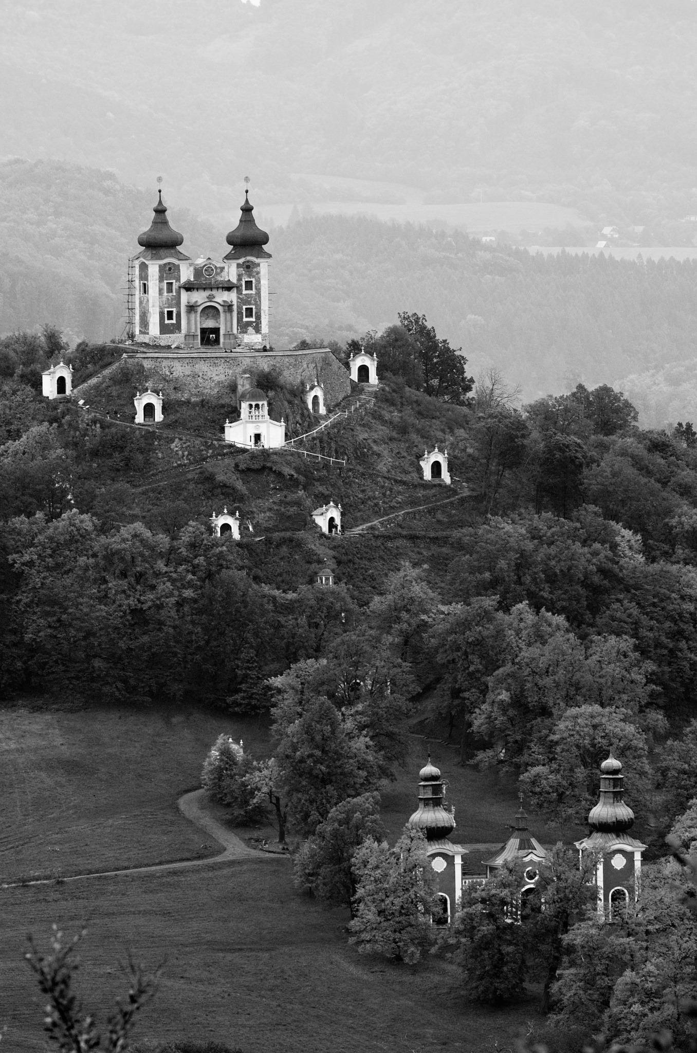 Foto Tibor Mosko   Banska Štiavnica, Kalvária, Slovensko